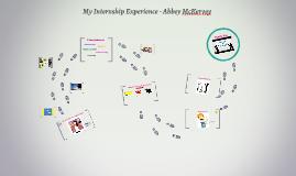 My Internship Experience - Abbey McKervey
