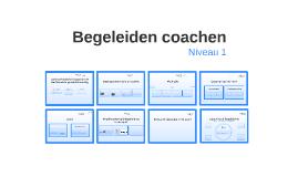 Begeleiden coachen