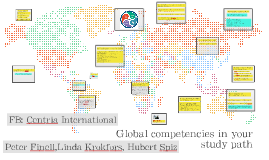 Copy of Global competencies in your study path 2018-2019