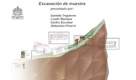 Copy of Excavaciòn de muestra