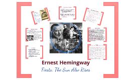 Copy of Hemingway, Fiesta