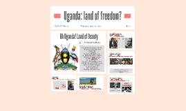 Uganda: land of freedom?