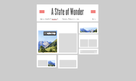 A State of Wonder