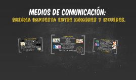 Medios de comunicación: