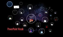 PowerPoint Vocab