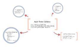 Agile Tester Syllabus Explain