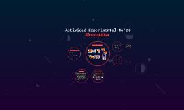 Actividad Experimental No°28