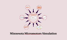 minnesota motors marketing simulation