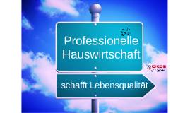Copy of Professionelle Hauswirtschaft