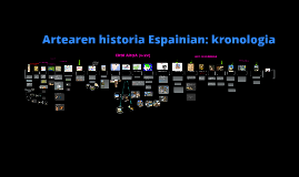 Copy of ARTEAREN HISTORIA ESPAINIAN: KRONOLOGIA