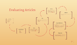 Evaluating Articles