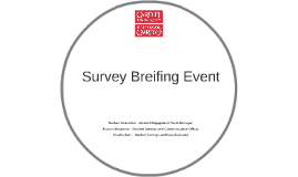 Survey Breifing Event