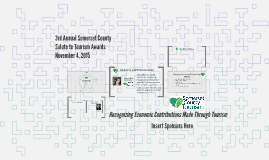 2nd Annual Somerset County Tourism Awards