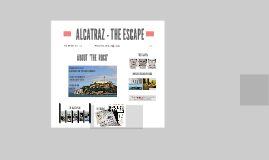 ALCATRAZ - THE ESCAPE