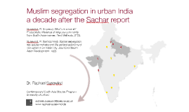 Muslim segregation in urban India