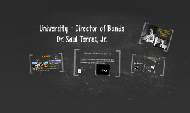University - Director of Bands