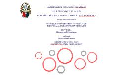 """Plantilla Editable """"Presentación para examen profesional"""" Fondo blanco"""