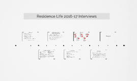 Residence Life Interviews