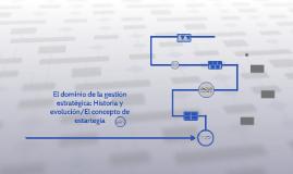 El dominio de la gestión estratégica; historia y evolución/