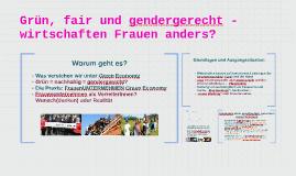 Grün, fair und gender_gerecht