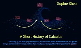 A Short History of Calculus