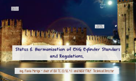 Status &harmonization of CNG standards and Regulations
