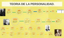 TEORIA DE LA PERSONALIDAD.