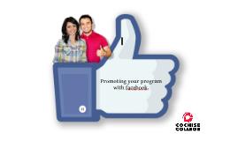 Copy of facebook promotion