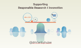 Supporting Responsible Research - Vitae April 2016