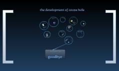 the development of ozone hole
