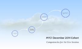 MYC1 December 2014 Cohort