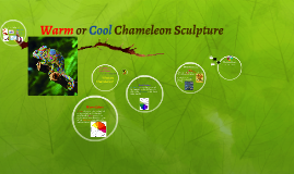 Warm or Cool Chameleon Sculpture