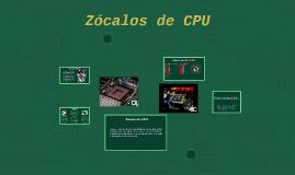 Copy of Zócalos de CPU