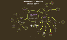 Copy of Steven Lukes, El poder: un enfoque radical