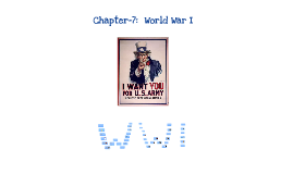 Chapter 7:  America Enters War
