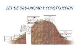 LEY DE URBANISMO Y CONSTRUCCIÓN