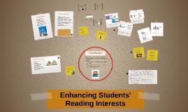 Enhancing Students' Reading Interests