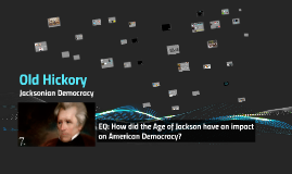 8th PACE Jacksonian Democracy