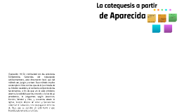 La catequesis a