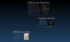 Orion to Taurus to Auriga
