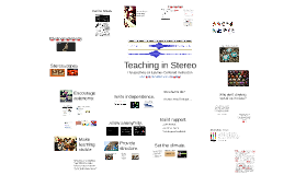 Teaching in Stereo