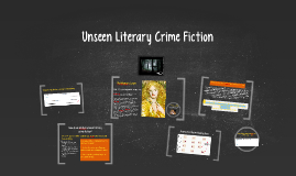 Unseen Literary Crime Fiction