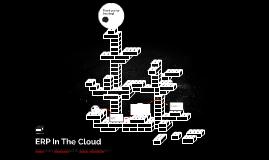 ERP In The Cloud