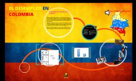 EL DESEMPLEO EN COLOMBIA