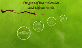 Origins of Biomolecules