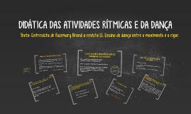 EXPLORANDO O CONCEITO DE DANÇA