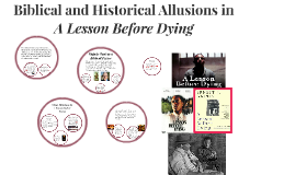 Copy of Biblical Allusions in A Lesson Before Dying