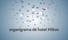 Copy of organigrama de hotel HILTON