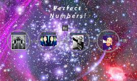Perfect Nnumbers ...