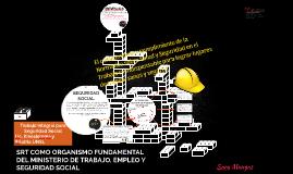 SRT COMO ORGANISMO DENTRO DEL MINISTERIO DE TRABAJO, EMPLEO